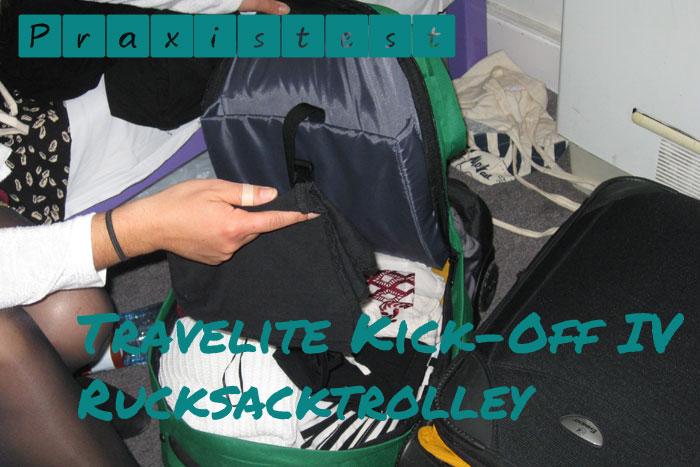 Der Travelite Kick-Off IV im Test als Handgepäck für Ryanair