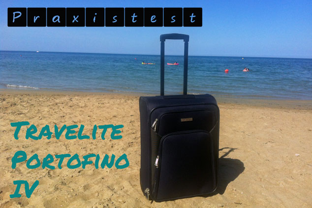 Praxistest bei Ryanair: Travelite Portofino IV 2-Rad Bordtrolley