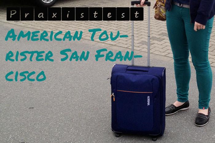 American Tourister San Francisco getestet im Handgepäck bei Ryanair