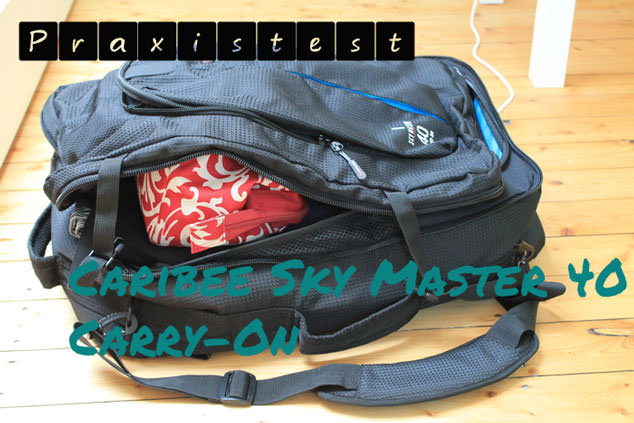 Caribee-Skymaster-40 carry on test