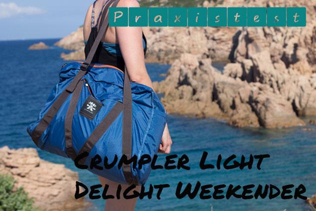 Praxistest bei Easjet und Germanwings: Crumpler Light Delight Weekender