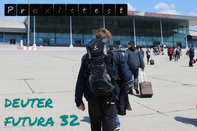 Der Deuter Futura 32 im Handgepäck-Praxistest