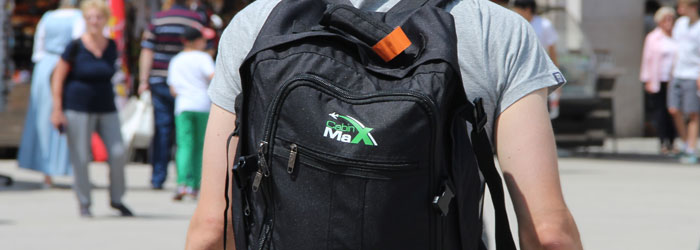 Der Handgepäck-Rucksack von Cabin Max