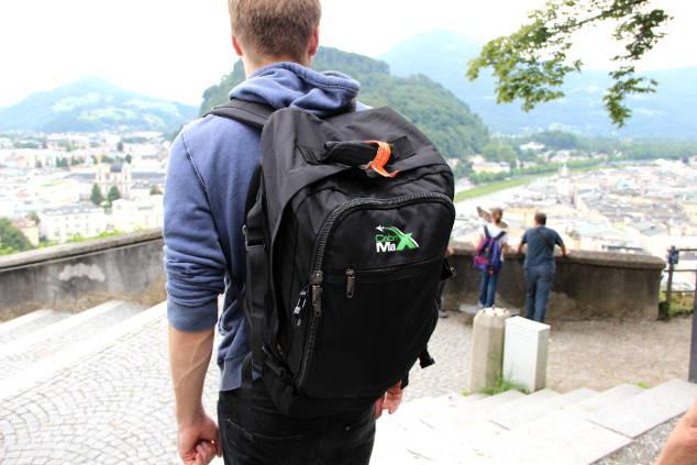 cabin max rucksack im praxistest