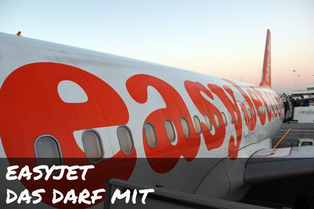 Easyjet: Das darf (NICHT) im Handgepäck mitfliegen!