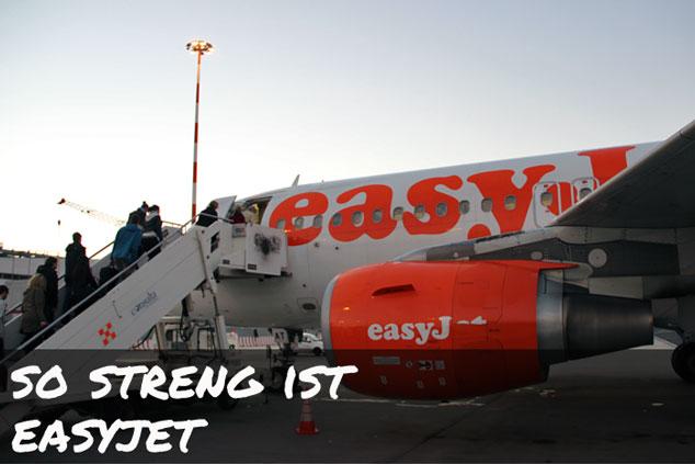 So streng ist Easyjet beim Handgepäck!