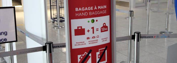 Air France Handgepaeck Bestimungen