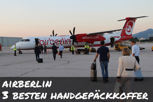 Handgepäck: Die drei besten Koffer für AIR BERLIN