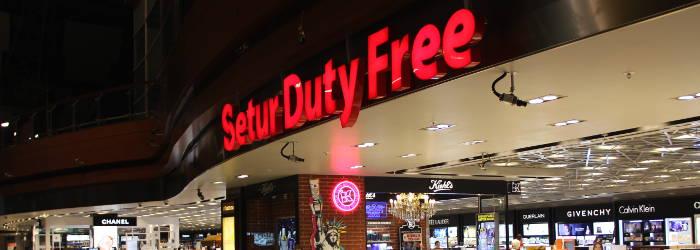 Duty Free-Shop am Flughafen