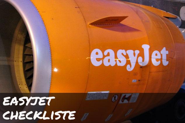 Easyjet: Die ULTIMATIVE Checkliste für das Handgepäck!