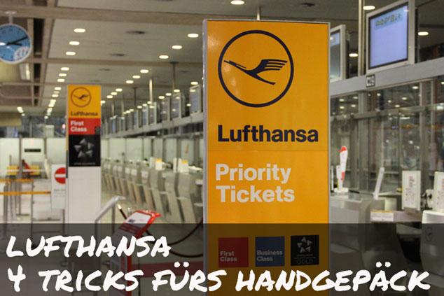Lufthansa: Mit diesen 4 Tricks passt alles ins Handgepäck!