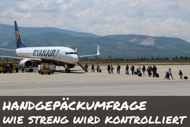 Umfrage: Wie streng kontrollieren Airlines das Handgepäck?