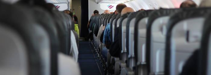 Eurowings im Fleugzeug