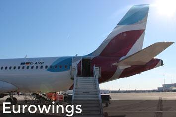 Hier findest du Informationen zum Eurowings Handgepäck