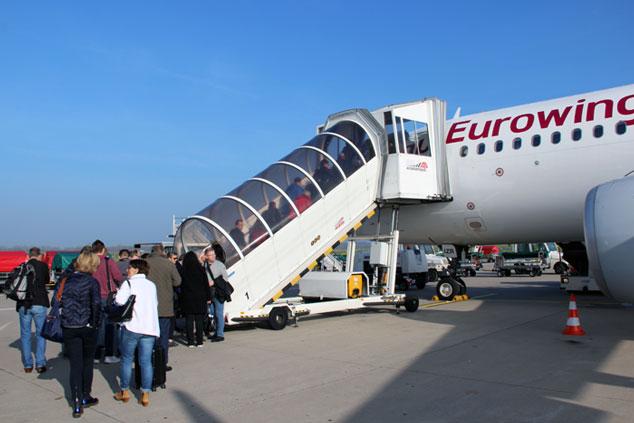 NEU: Zusätzliche Tasche z.B. für ein Laptop bei Eurowings offiziell erlaubt!