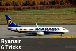 6 Tricks für das Handgepäck bei Ryanair