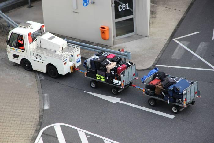 Gepäck bei Ryanair