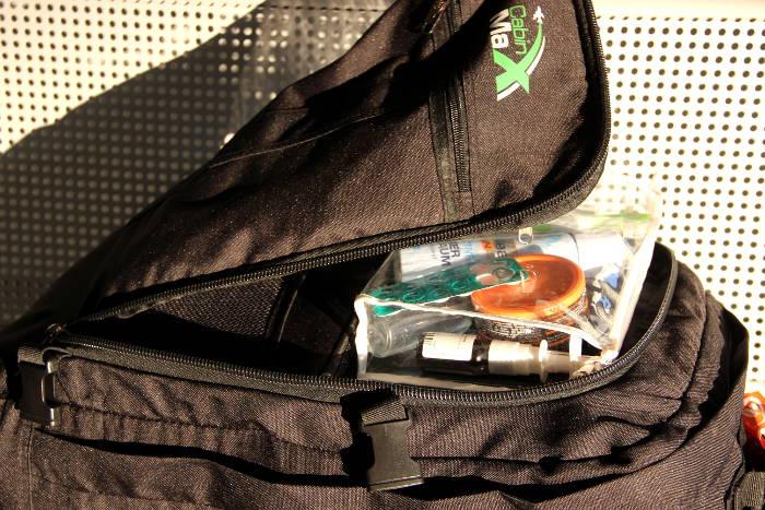 Beutel für Flüssigkeiten im Handgepäck