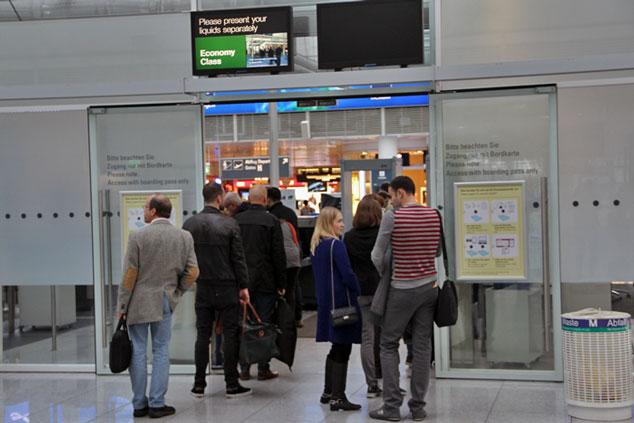 Mitnahme von Lebensmitteln bei Flugreisen