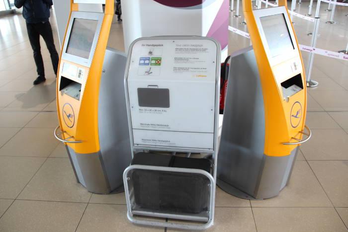 Erlaubte Maße und Gewicht des Handgepäck bei der Lufthansa