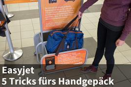 Kletterausrüstung Handgepäck : ᐅeasyjet: das darf nicht im handgepäck mitfliegen!