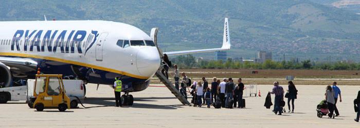 Bei Ryanair Flüssigkeiten im Handgepäck mitnehmen