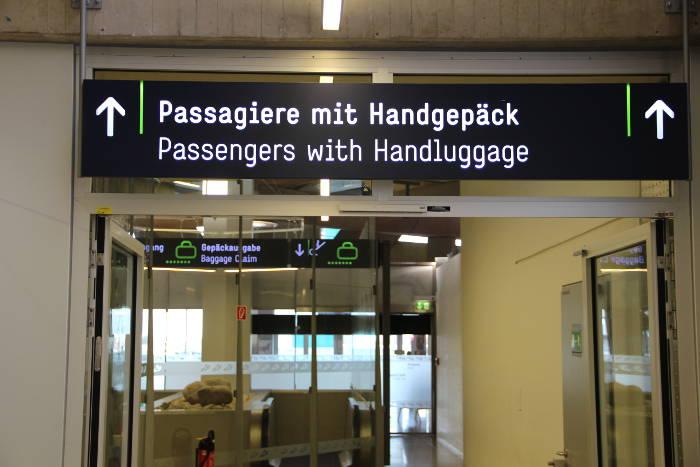 Tipps für das Handgepäck.