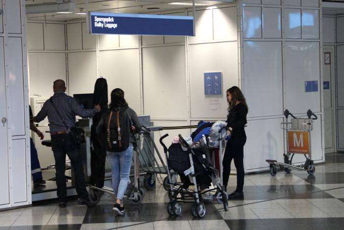 Kindersitz bei Ryanair mitnehmen