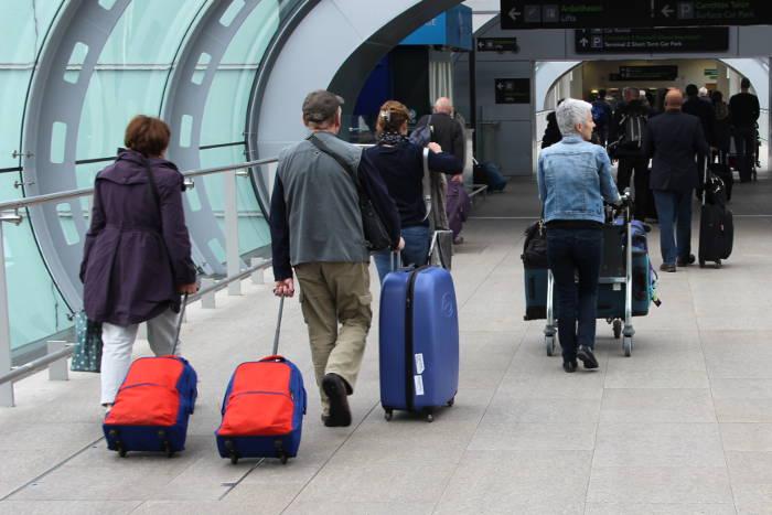 Gepäck bei Condor