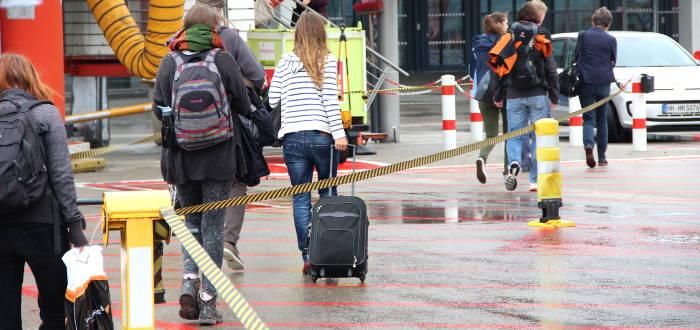 Rucksack zusätzlich zum Handgepäck