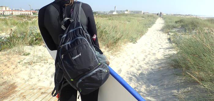 Faltrucksack von Gonex 30 Liter
