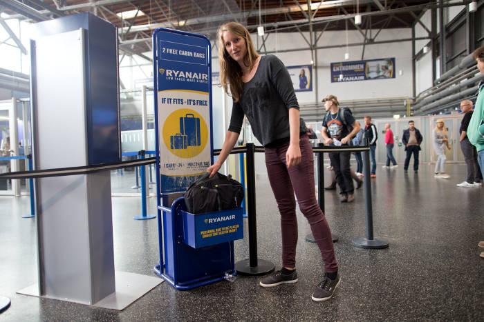kleines Handgepäck Ryanair