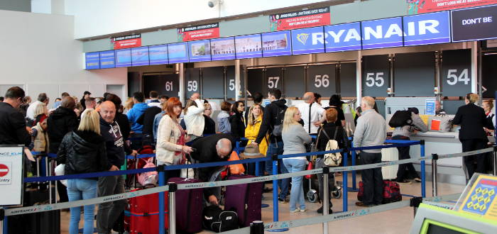 Entschädigung für Verspätungen bei Ryanair