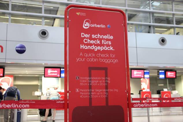 Air Berlin: Die ULTIMATIVE Checkliste für das Handgepäck!