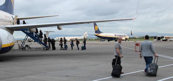 Die Handgepäck-Bestimmungen von Ryanair