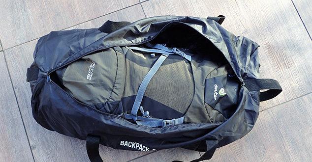Der Backpack Locker Lightweight: Rucksacküberzug im Praxistest