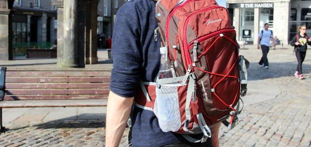 Mountaintop Wanderrucksack: 4/5 -> EMPFEHLENSWERT