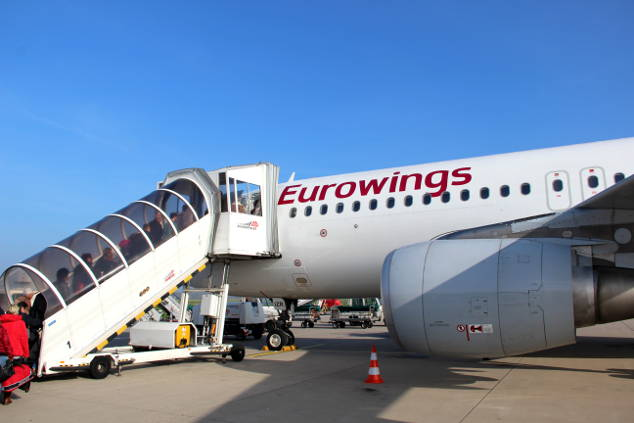 Eurowings-Gepäck: Maße, Gewicht und Kosten 2018