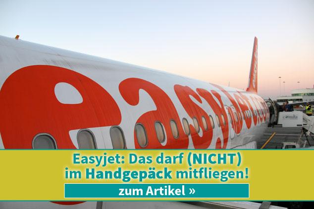 Kletterausrüstung Im Flugzeug : ᐅeasyjet: das darf nicht im handgepäck mitfliegen!