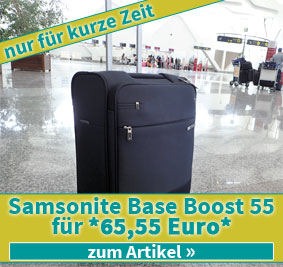 Samsonite Base Boost 55 Deal