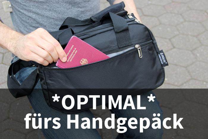 Aerolite Tasche optimal fürs Handgepäck