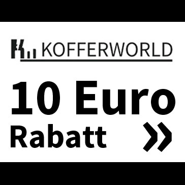 10 Euro Rabatt bei Kofferworld