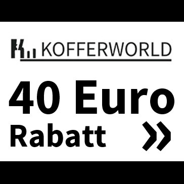 40 Euro Rabatt bei Kofferworld